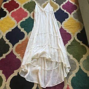 New Glory XL white gauze dress summer flowy
